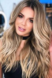 sexy light brown hair color