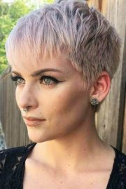pixie cut ideas suit