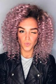 sassy short curly hairstyles