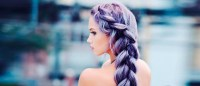 24 Inspirational Ideas To Braid Your Purple Hair ...