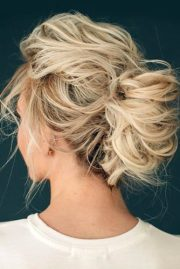 fun and easy updos long