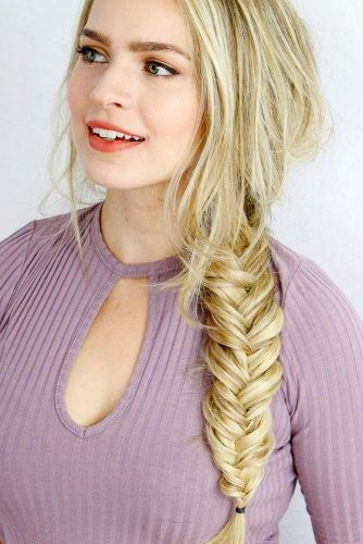 Easy Fishtail Braid Tutorial