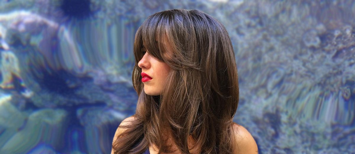 21 Long Hair with Bangs Styling Ideas  LoveHairStylescom