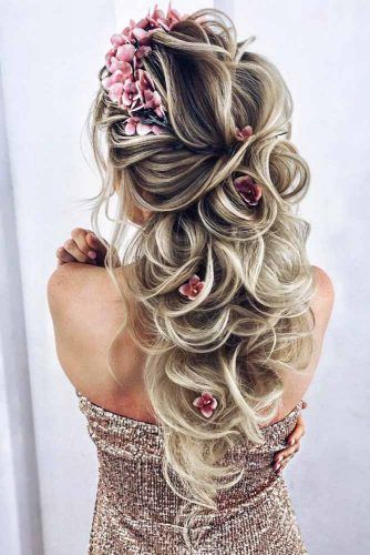 Try 42 Half Up Half Down Prom Hairstyles  LoveHairStylescom