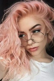 peach hair newest trend
