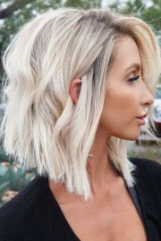 untraditional lob haircut ideas