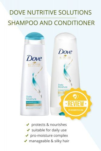 Dove Nutritive Solutions Shampoo And Conditioner Daily Moisture #shampooandconditioner #hairproducts