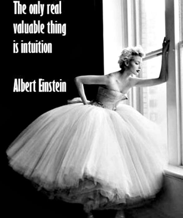 Do you listen to your intuition and gut instinct?
