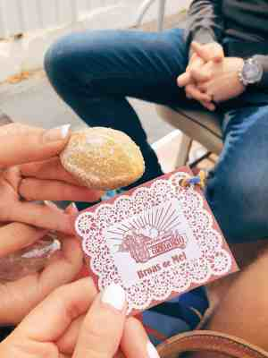 Broas de Mel cookies