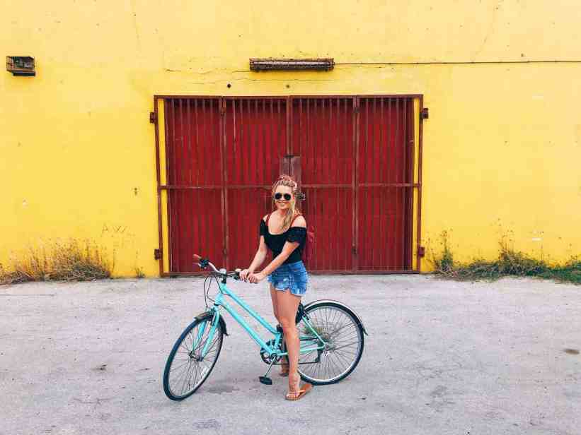 Biking around the island, one of the top things to do in Curacao