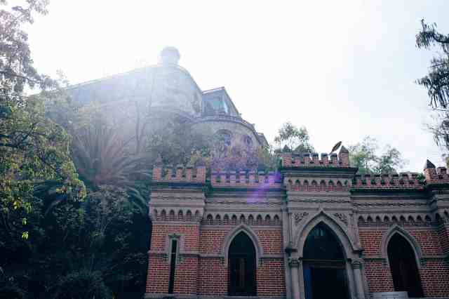 Castle in Bosque de Chapultepec, one of the top things to do in Mexico City