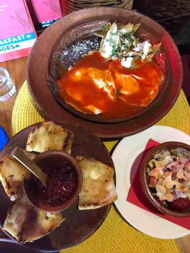 Where to eat in Mexico City, brunch at Corazon de Maguey in Coyocan