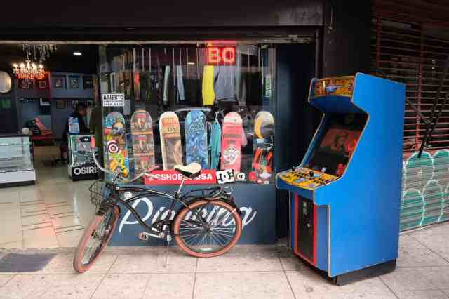 A skate shop in Roma Norte, one of the top things to do in Mexico City