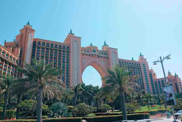 Atlantis the Palm Dubai, one of the top things to do in Dubai.