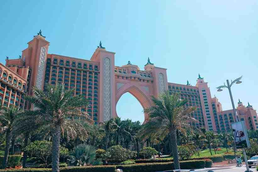 Atlantis the Palm Dubai, one of the top things to do in Dubai.