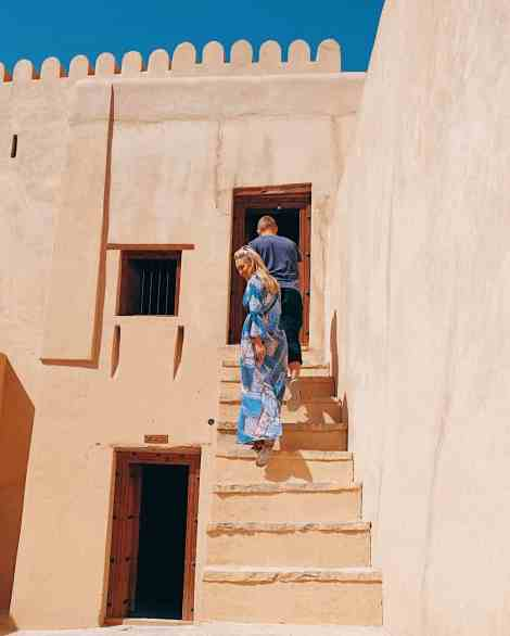 Nizwa Fort, one of the top things to do in Oman.