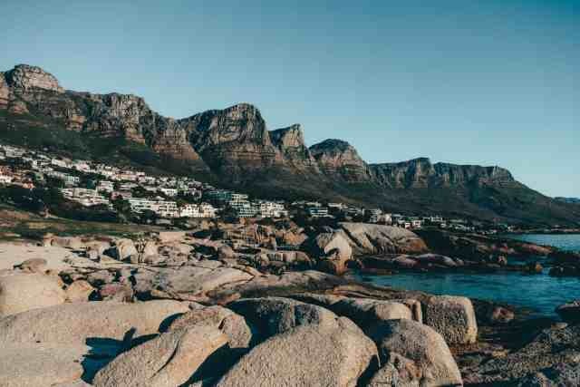 The 12 Apostles from Camps Bay