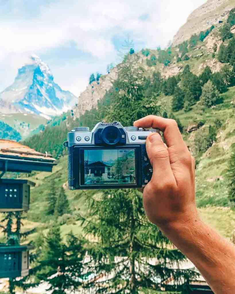 Fujifilm x-t20 in the mountains, the best camera for travel photography