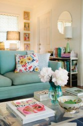 living room cute sunroom fall help bright colors couch sofa decor apartment cottage pretty lovely beach simple cozy livingroom colorful