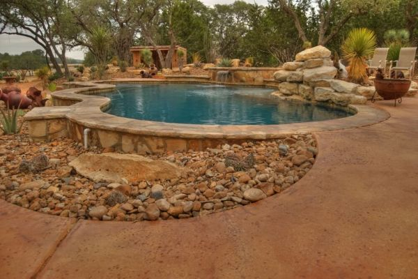 swimming pool design in ground