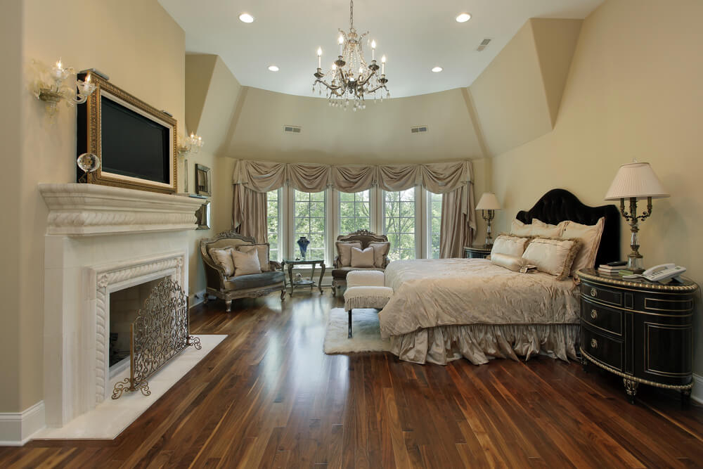 32 Bedroom Flooring Ideas (Wood Floors)