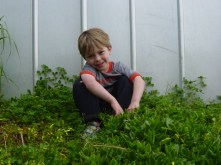 Mason aged 4