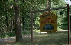 camp crystal lake friday the 13th sign