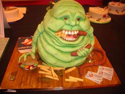 slimer cake