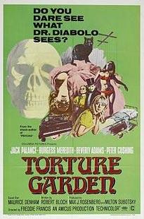 torture garden horror poster