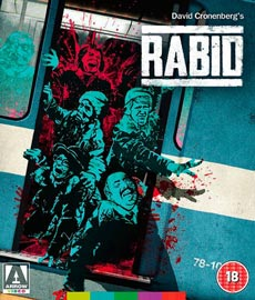 Rabid 1977 cover arrow video horror