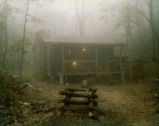 log cabin fog