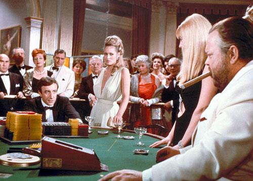 Poker playing movie