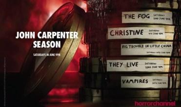 John Carpenter season horror channel