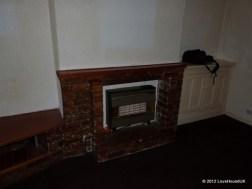 Living room firepace