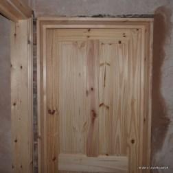 bedroom/bathroom doors