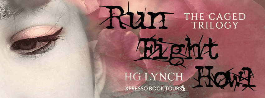 Cover Reveal: the Caged Trilogy by H.G. Lynch