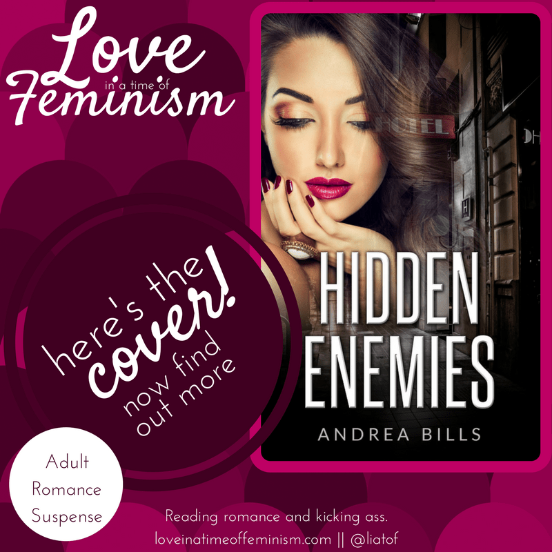 Cover Reveal: Hidden Enemies by Andrea Bills