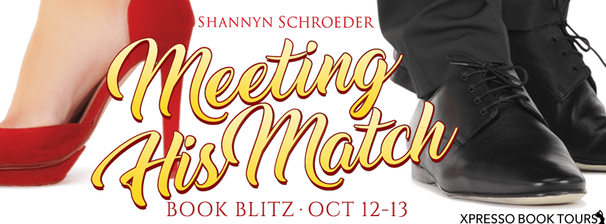Playlist & Excerpt: Meeting His Match by Shannyn Schroeder