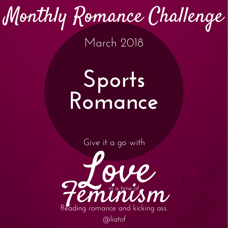 Monthly Challenge March 2018: We're Reading… Sports Romance!