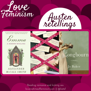 GingerSnap Recommendations: Jane Austen Retellings