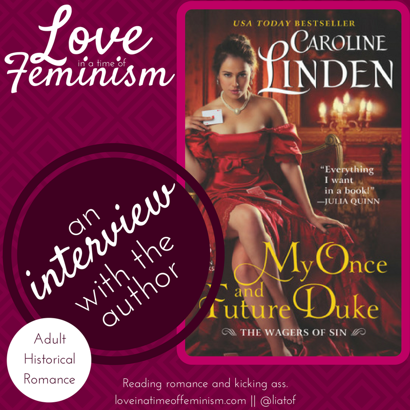 Interview & Excerpt: My Once and Future Duke by Caroline Linden