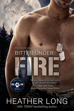 Excerpts: The Hunt for an Alpha tour, featuring Bitten Under Fire by Heather Long and Wolf of Her Own by N.J. Walters
