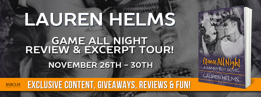 Review & Giveaway: Game All Night by Lauren Helms