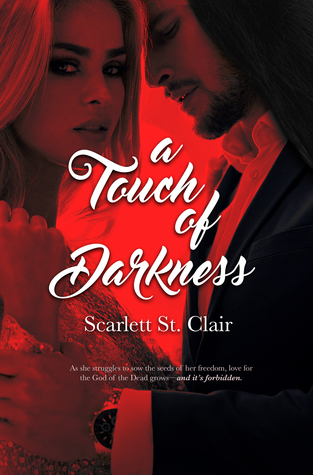 Excerpt & Giveaway: A Touch of Darkness by Scarlett St. Clair