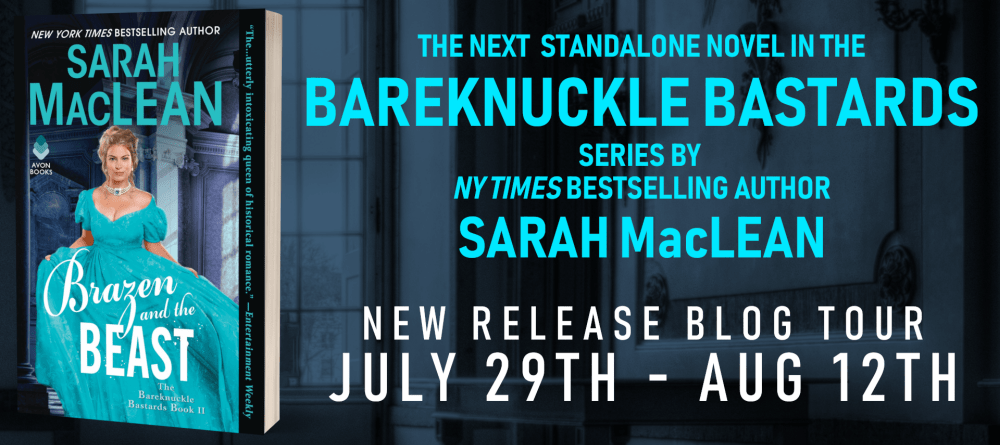 Review, Excerpt, & Giveaway: Brazen and the Beast (The Bareknuckle Bastards #2) by Sarah MacLean