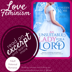 First Chapter: An Unsuitable Lady for a Lord by Cathleen Ross