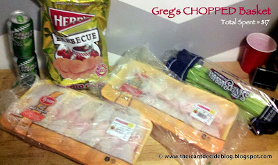 CHOPPED Thursdays Round #5 – Greg's Turn