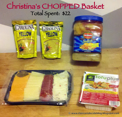 CHOPPED Thursdays Round #8 – MY TURN!!!