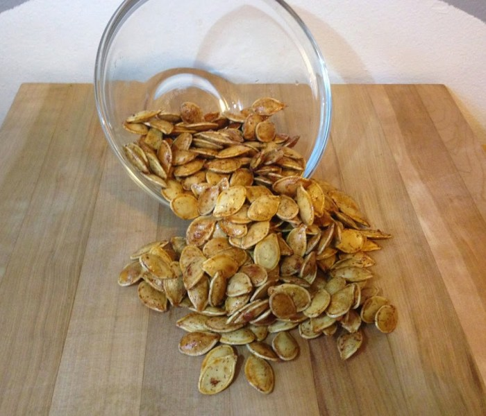 Day 26 – Roasted Pumpkin Seeds