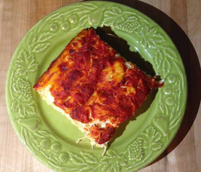 Day 28 – Grandma Sylvia's Baked Macaroni